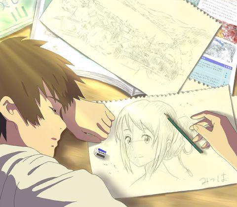 7e058bf974a5097ea2fdbe7d283feeb0--your-name-anime-manga-art