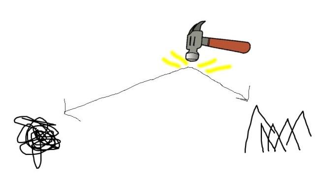 hedgehog's dilemma - hammer 2